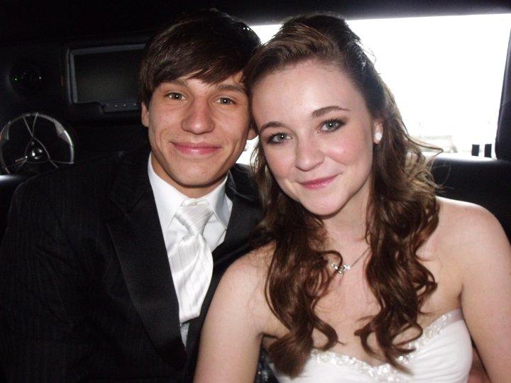Emily Noah prom 2