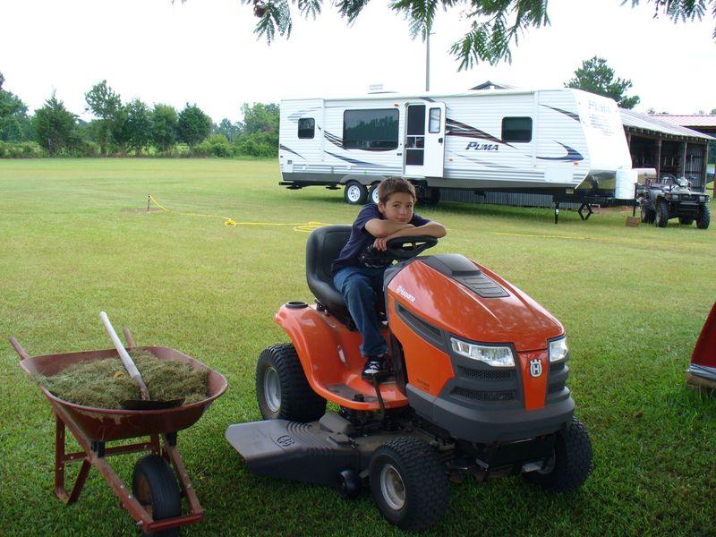Ben tractor orange